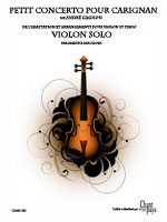 partition Violon solo